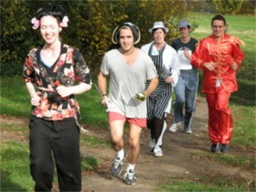 People on a Fun Run