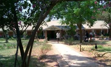 The small rural hospital at Mua