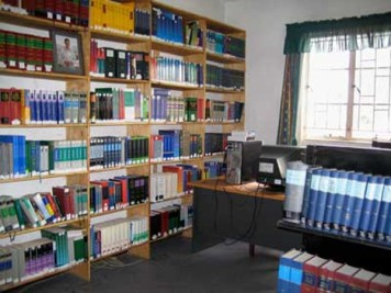 Inside the legal aid library in Lilongwe